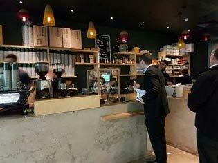 Low Down café
